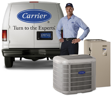 Carrier van, contractor and HVAC products
